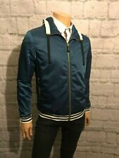 "Foray Terminal Bomber Jacket, Blue, Med, 38"" Chest, BNWT, RRP £55, Terrace Wear."