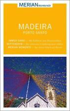 REISEFÜHRER Madeira + Porto Santo 2015/16+  LANDKARTE; UNGELESEN, wie neu