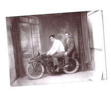 moto TERROT à l'atelier du photographe 1928-32 à Orange