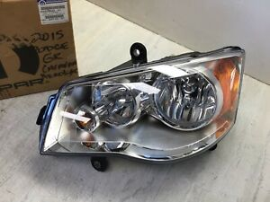 2012-2020 Dodge Grand Caravan OEM Driver Head Lamp & Park Turn Lamp 5113337AG