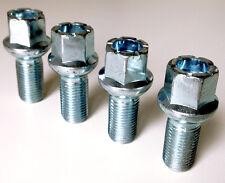 4 x Car wheel bolts. M14 x 1.5 Radius Seat 27mm Thread Length.