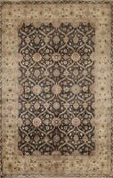 Floral Traditional Oriental Area Rug Wool Hand-knotted Vegetable Dye Carpet 6x8
