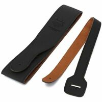 PU Leather For Electric Acoustic Guitar Bass Handicraft Thick Strap Belt