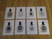 Diptyque 50 Year Anniversary Set of 8 Postcards Limited Edition