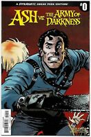 Ash vs AOD Army of Darkness #0 RI 1:10 Variant (Dynamite, 2017) NM