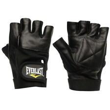 ✅ EVERLAST Herren Trainings Handschuhe Fitness Sport Hantel Fahrrad Leder NEU