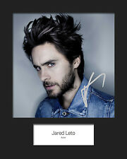 JARED LETO #5 Signed 10x8 Mounted Photo (REPRINT) - FREE DELIVERY