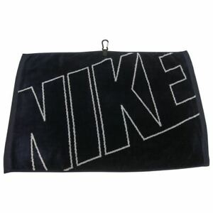 Nike Golf Jacquard Towel (Midnight Navy Blue/Grey)