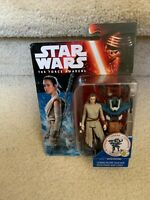 "Star Wars The Force Awakens 3.75"" Figure Snow Mission Rey Starkiller Base"