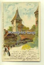 More details for su1638 - village suisse , paris exposition 1900 - postcard