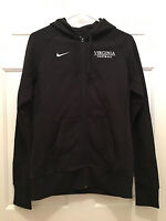 Virginia UVA Cavaliers Football Team Issued Nike Black Hoodie Jacket Medium