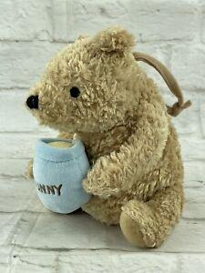 "Disney 7"" Winnie the Pooh Classic Pooh Music Crib Toy Plush Doll Lullaby Baby"