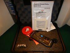 Aemc 6416 Clamp On Ground Resistance Meter New
