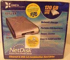 Ximeta 120GB External 7200RPM (NDU10-120) HDD