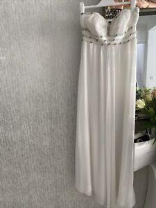 Wedding Dress Size 10 - STAR Juilen mcdonald - Full Lenght Floaty, Off White