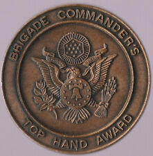 U.S. Army Recruiter Top Hand Award Bronze Color Challenge Coin 1.5 Inch DIA