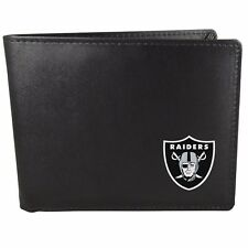 Oakland Raiders Bi-Fold Mens Wallet NFL Football Licensed Product
