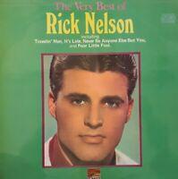 The Very Best Of Rick Nelson Vinyl LP.1976 Sunset SLS 50164.Travelin' Man+