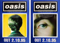 Original Oasis poster set - Whats the story? (Noel & Liam)