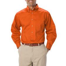 Camicie casual e maglie da uomo a manica lunga in policotone con colletto regolare