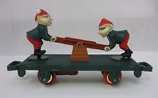 Vintage TOY STATE 1993 ELF Train Car Northpole Christmas Magic Retro
