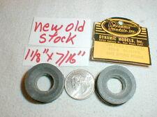 Vintage Original 1960's Tires by Dynamic Models 1/24 slot car #698 SOFT NOS 1pr