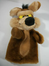 Wile E Coyote Hand Puppet Warner Brothers 24K Special Effects ©1991 Plush