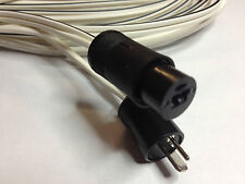 Speaker cables for Bang & Olufsen - PAIR of 10 meters 2 pin din -  New - $28.99