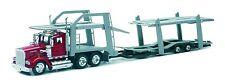 New  Ray 1:43   Kenworth W900 w/Dbl Decker Auto Carrier  NRY15213