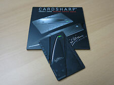Retro New Black Iain Sinclair Cardsharp Credit Card Folding Safety Razor Sharp