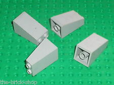 LEGO chateau castle 4 OldGray slope bricks ref 3684 / set 6085 6089 10123 4730..