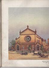 1908~St Louis Missouri-Second Baptist Church-Souvenir of Dedication-#120 of 500