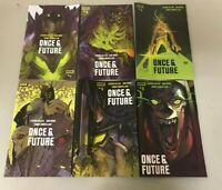 ONCE & FUTURE 1-6 JETPACK COMICS LAFUENTE EXCLUSIVE VARIANT BOOM STUDIOS HOT
