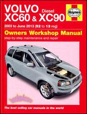 VOLVO XC60 XC90 SHOP MANUAL SERVICE REPAIR BOOK HAYNES CHILTON WORKSHOP AWD