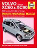 XC90 XC60 VOLVO SHOP MANUAL SERVICE REPAIR BOOK HAYNES CHILTON WORKSHOP AWD