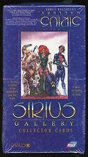 SIRIUS GALLERY Trading Cards. 1998. Unopened box.