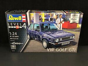 Revell VW Golf GTI 1:24 Scale Plastic Model Kit 07673 NISB