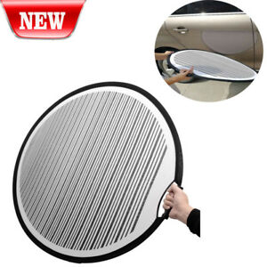 Foldable Lined Paintless Dent Repair Board Cloth Line Board Scratch Reflector