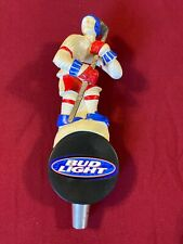 Beer Tap Handle Bud Light Hockey Player Beer Tap Handle Rare Figural Tap Handle