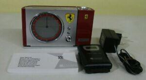 Original Ferrari Oregon Scientific Projektionsuhr/Wecker Original Box