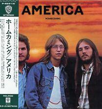 "AMERICA ""HOMECOMING"" ORIG JAPAN 1972 OBI/INSERT MINT"