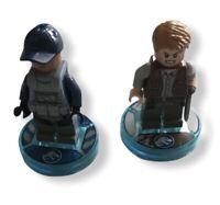 Lego Dimensions Team Pack minifigures Jurassic World Jurassic Park 71205 Rare
