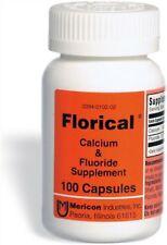 Florical Calcium And Fluoride Supplement Capsules 500 ea