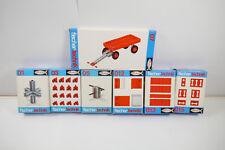 Fischertechnik 7 Différentes 01+03+05+07 + 012+013+015 Complément Box (MF12)
