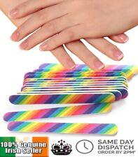 Pro Nail File Art Sanding Grit Files Buffer Emery Board Manicure Pedicure UV Gel
