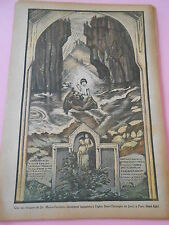 Une des fresque de Jac Martin Ferrières Eglise St Christophe de Javel Print 1934