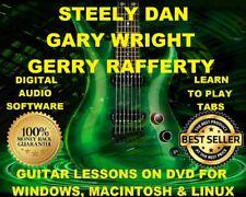 Steely Dan Guitar TAB Lesson CD 246 TABS 35 Backing Tracks BONUS Gerry Rafferty