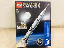 LEGO IDEAS - 21309-NASA APOLLO SATURN V ROCKET-Sigillato Nuovo di Zecca & 10