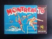 Autocollant Montreal 76 Chocolats Jacques Jeux Olympiques