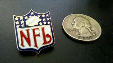 NFL NATIONAL FOOTBALL LEAGUE SHIELD LOGO PETER DAVID ENAMEL 1992 PIN
